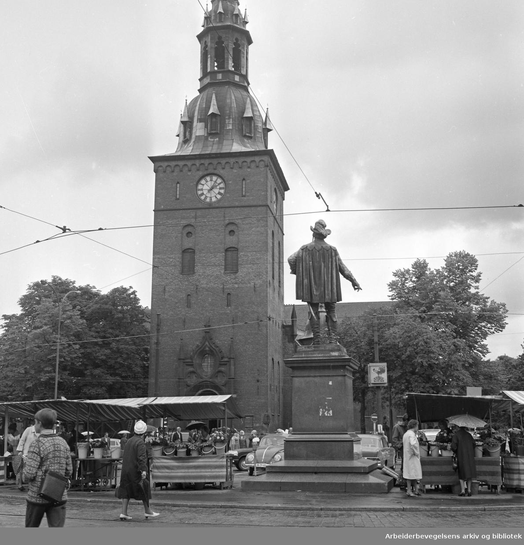 Stortorvet. Oslo Domkirke..1965 - 1970.
