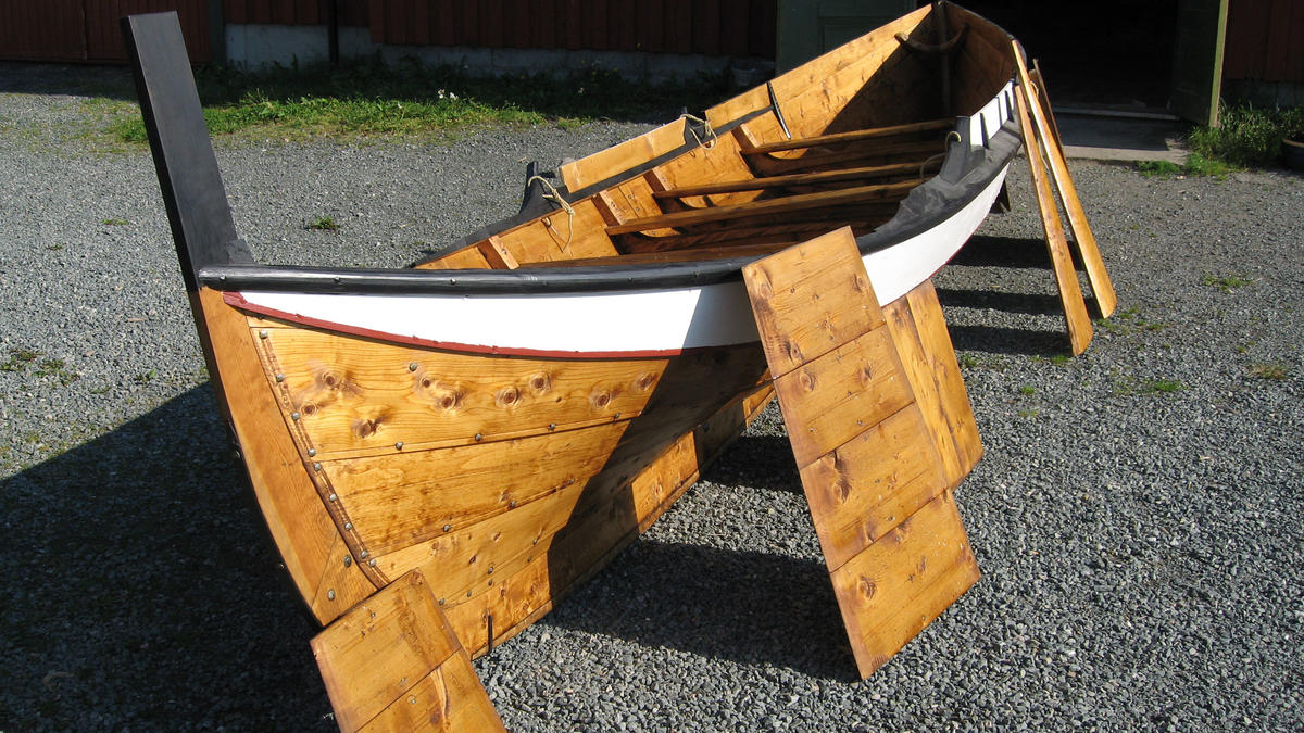 Åfjordsbåt. Færing, about 18 ft. (Foto/Photo)