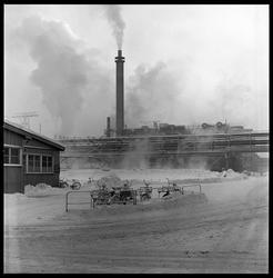 Fra port, Eidanger Salpeterfabriker.