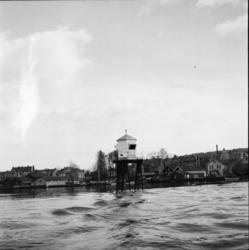 """Vardens arkiv. """"Sprengningen på Strømtangskjæret i Porsgrunn"""
