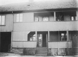 Gårdsplasssen til Mamen-gården i Storgata.
