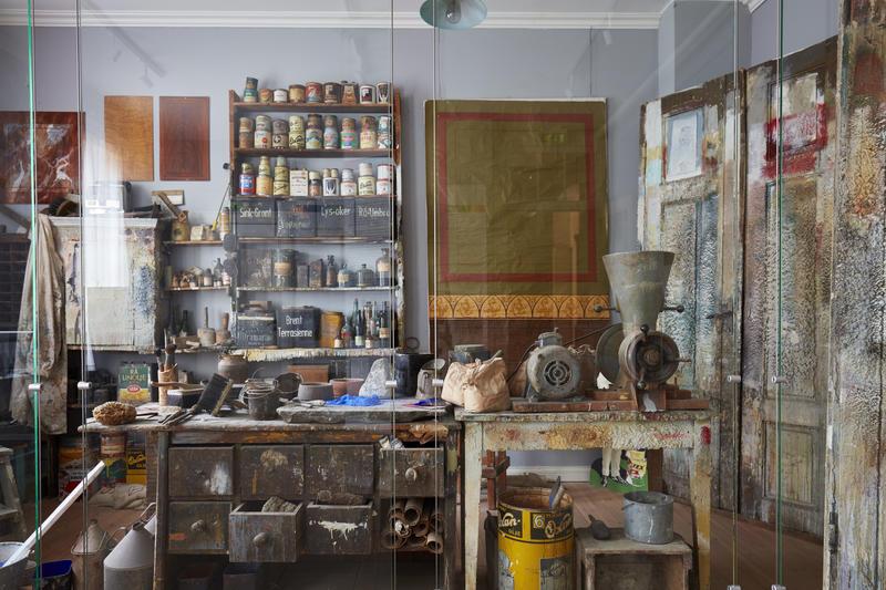 Malerverksted (Foto/Photo)
