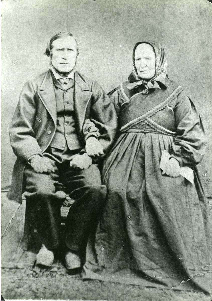 Reier Mikjelsen Dølve og hans kone Dorte, f. Langedrag.