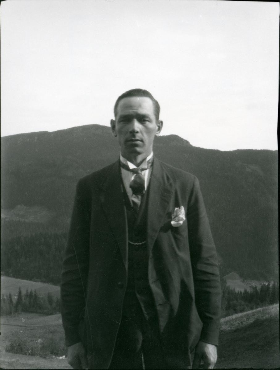 Portretter av Sigurd Hagadokken.