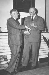 Harald Grieg og Sigurd Hoel
