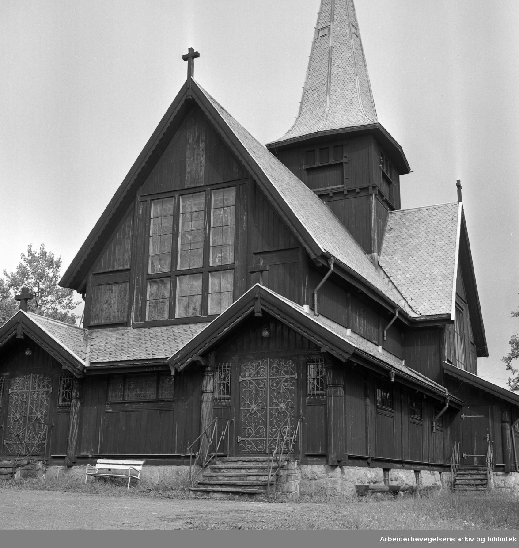 Holmenkollen kapell..1966.