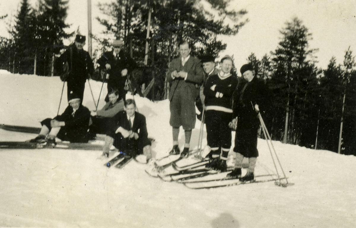 Skiing pioneer Mr Ruud