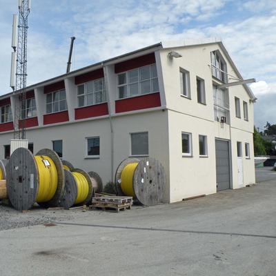 Lager  med kabeltromler (Foto/Photo)