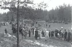 Skolidrottstävlingar en söndag i september eller oktober. T