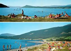 """Postkort """";M-4790-0""""; med to motiv fra Sunndal kommune, hvor"""