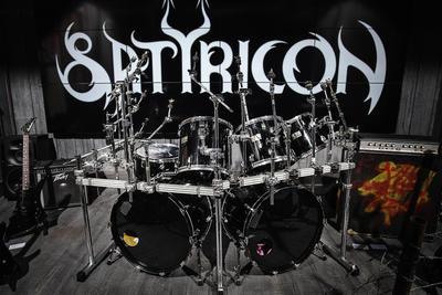 Trommesett, Satyricon. Foto/Photo