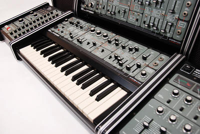 Synthesizer. Foto/Photo