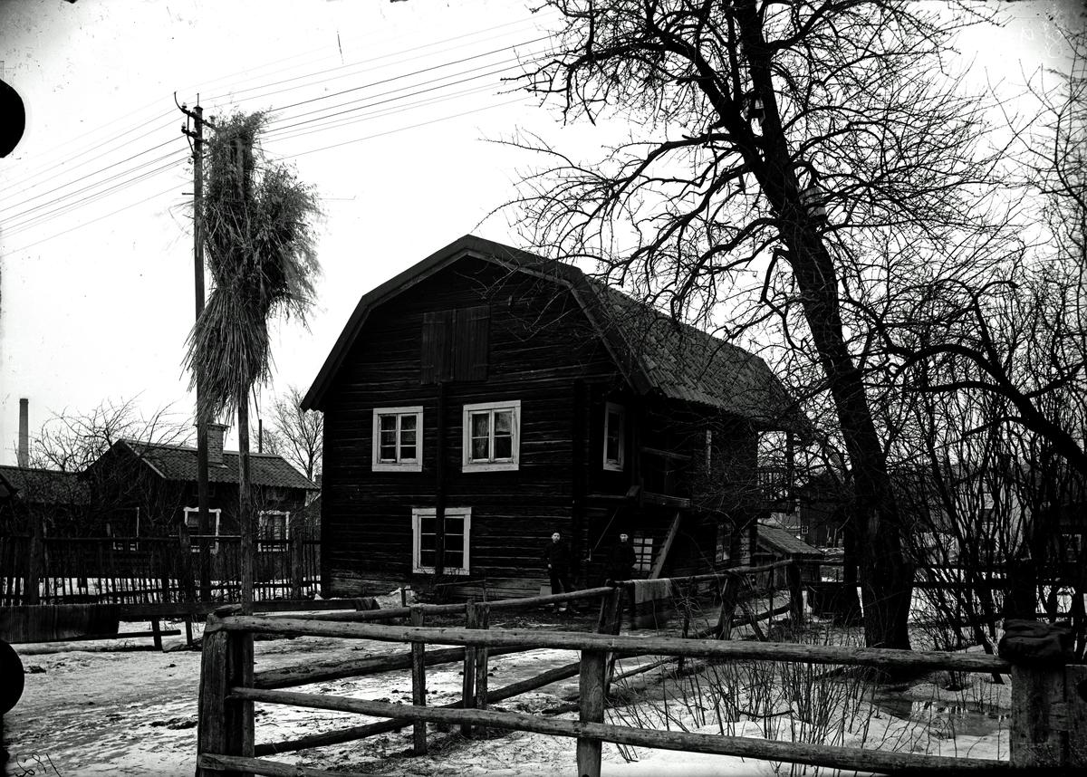 Loftbod vid Råbergs garveri, 1907.