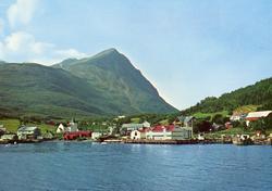 Lyngseidet i Troms. Postkort