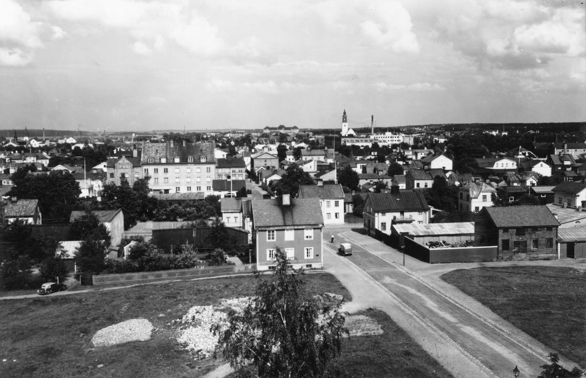 Gävle, utsikt över södra stadsdelen.