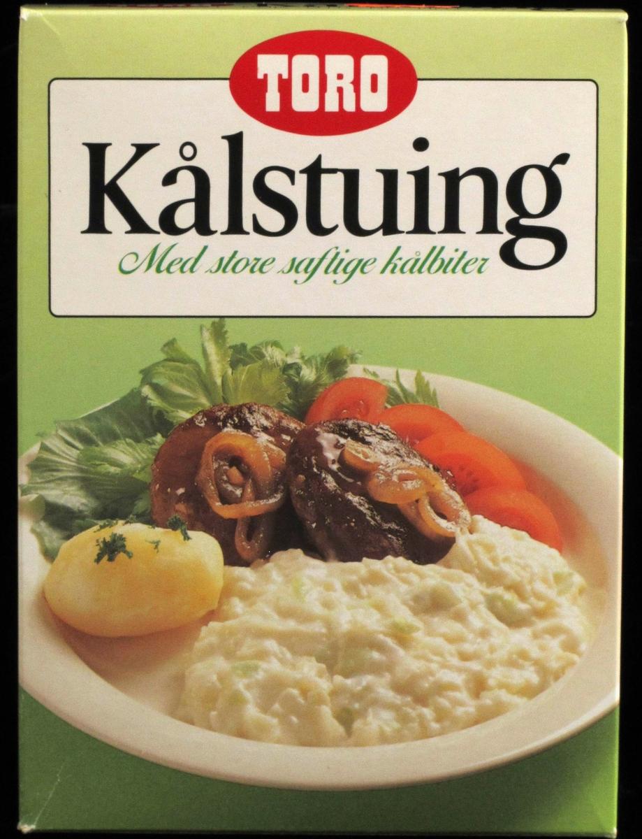 Tallerken med kålstuing, potet og kjøttkaker, mm