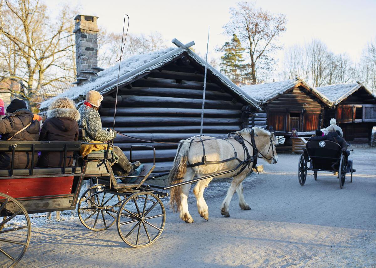 Julemarked på Norsk Folkemuseum