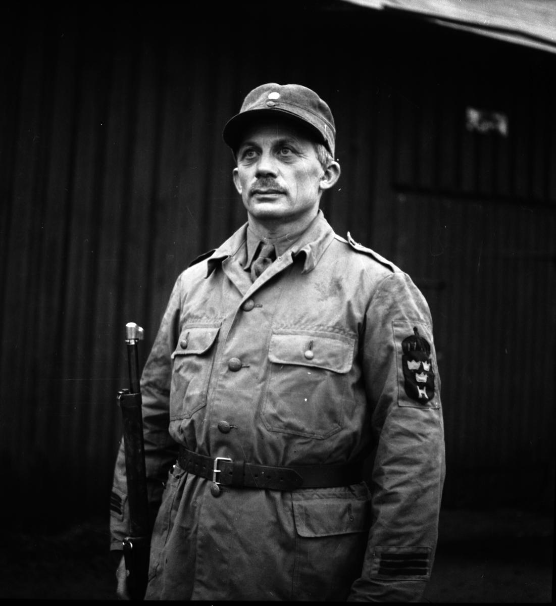 Hemvärnet. Oktober 1944