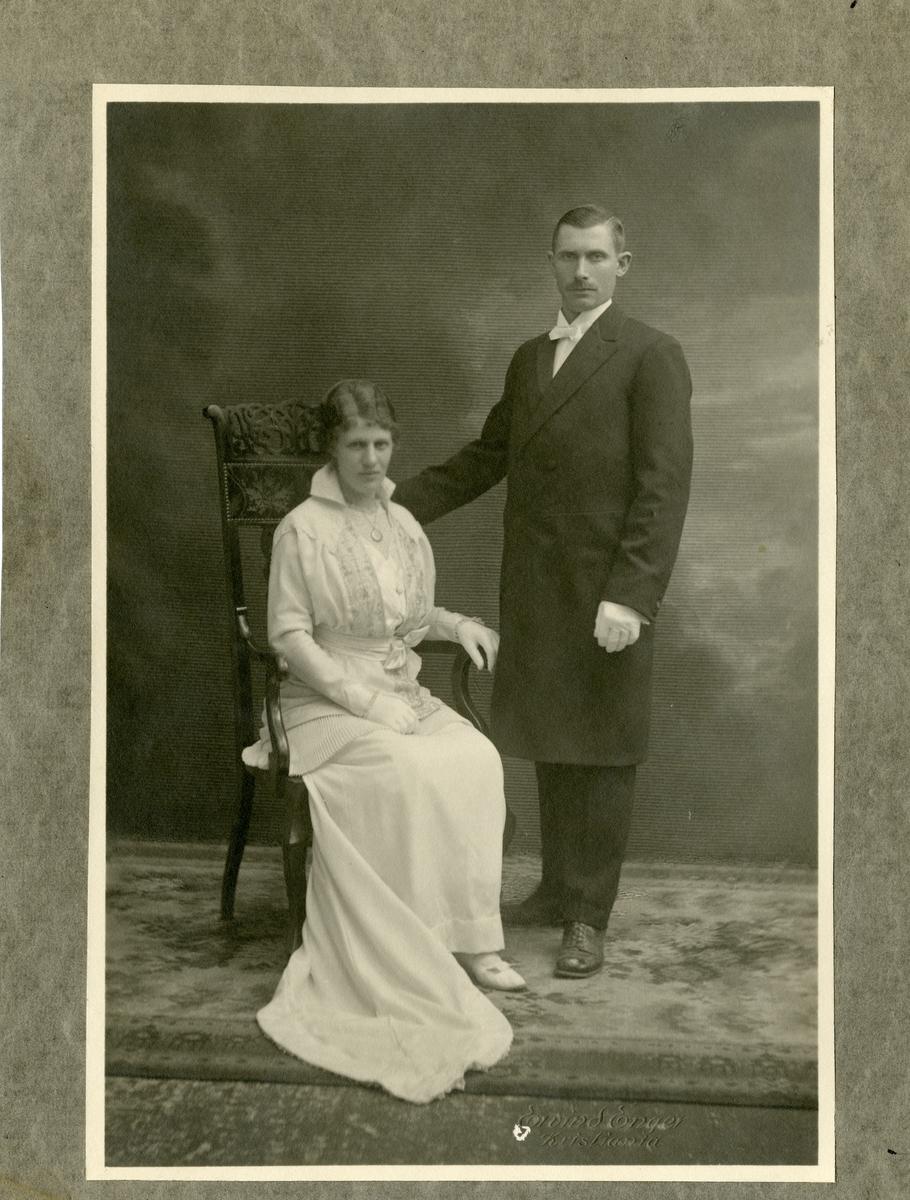 Christoffer Mekkelsen og Guri Rustebakke.