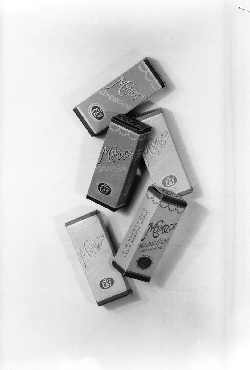 Elfströms Tekniska Fabrik AB  även känd som ljusfabriken Svea, grundades 19612 och ombildades till aktiebolag 1927. Tillverkade stearinljus, lutpulver, såplut, tvättmedel, hud och tandkrämer. Reporia svaveltjärtvål m.m Mimosa Havre Cremé