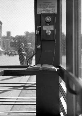 RIKS røde telefonkiosker betalingstelefon (Foto/Photo)
