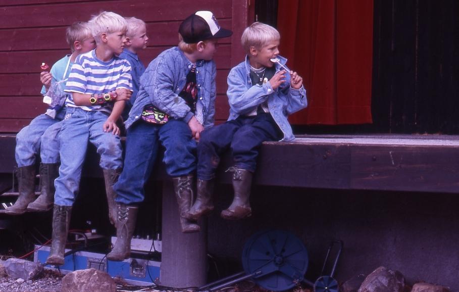 Unge og ivrige tilskoderar