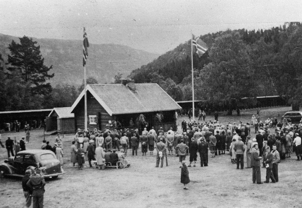 Ein dyrskudag i 1950-åra.
