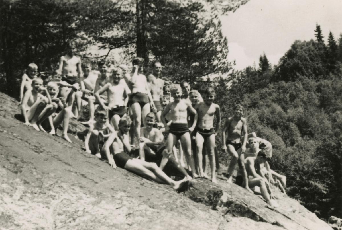 From the boys' camp at Ruudhytta