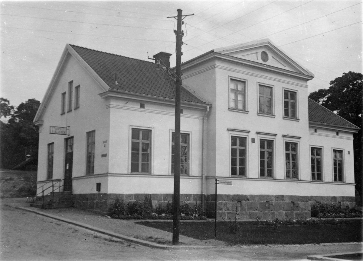 Gamla museibyggnaden 1946, Karlberg.
