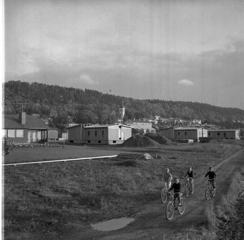 Byggnation av Egnahemsvillor 1964