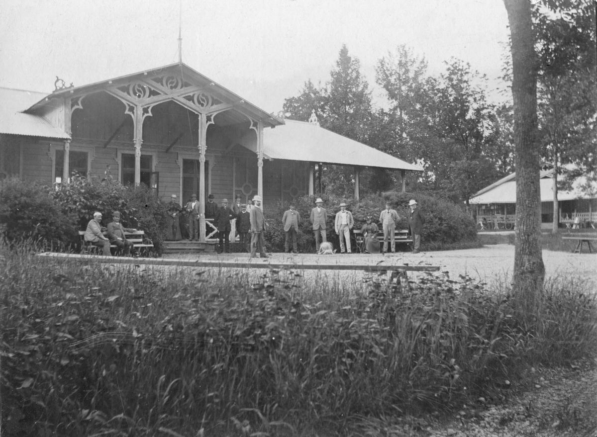 Societetssalongen på Johannisdal, 1890.