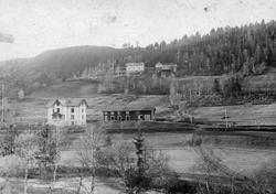 Hovedkontoret og laboratoriebygningen på Løkken Verk i 1906-