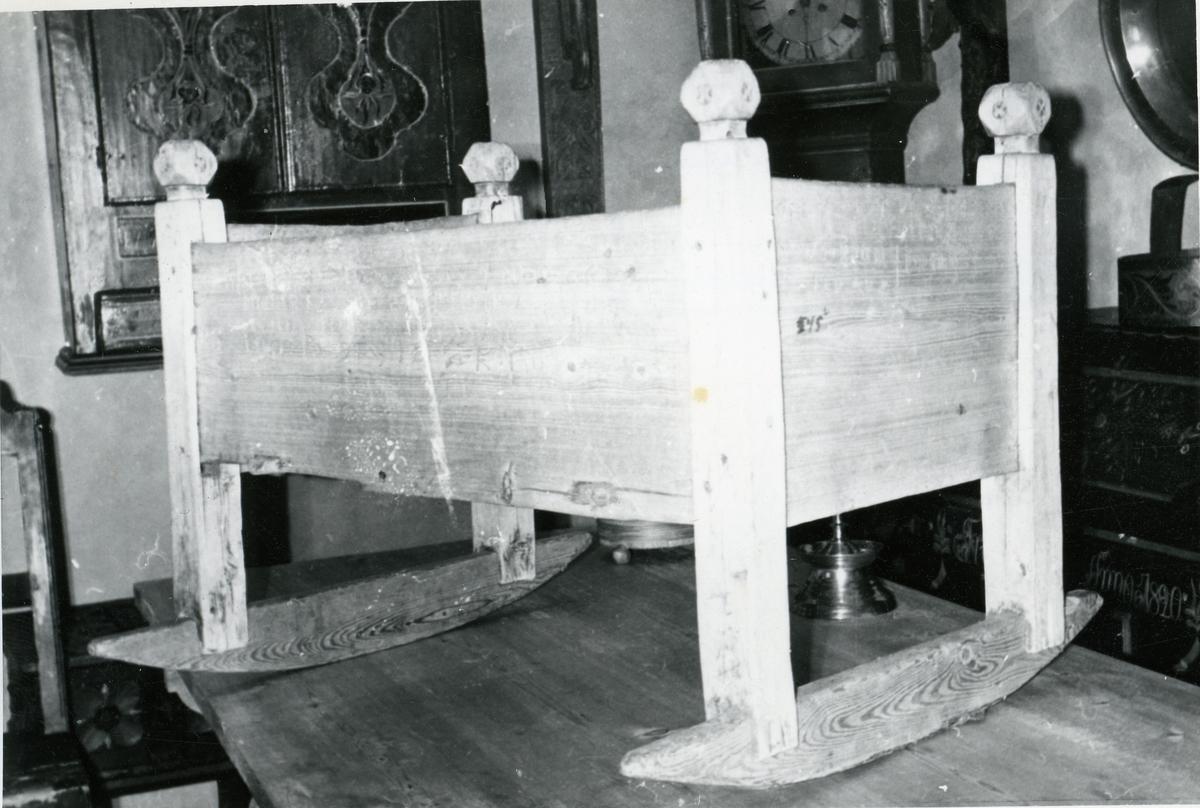 Vogge fra 1600-tallet. Bagn Bygdesamling, Sør-Aurdal.