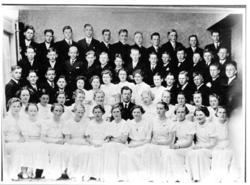 Konfirmantene av 1939 fotografert 14.mai
