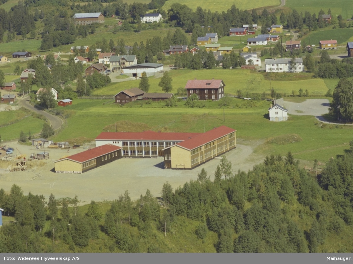 Gausdal ungdomsskole, boligområde, Forset, Vestre Gausdal