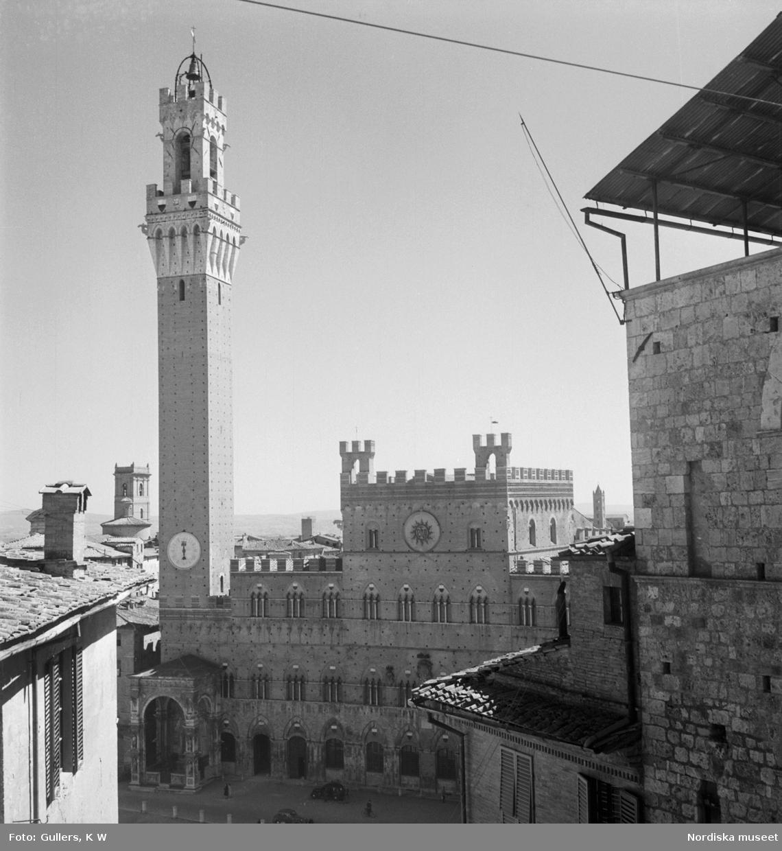 88-meterstornet på Palazzo pubblico i Siena.