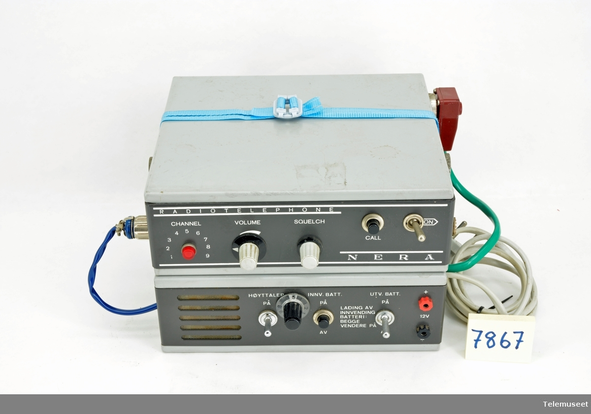 Nera OLT 24 kanaler VHF-tranceiver Modell: CM 15  VB-9P