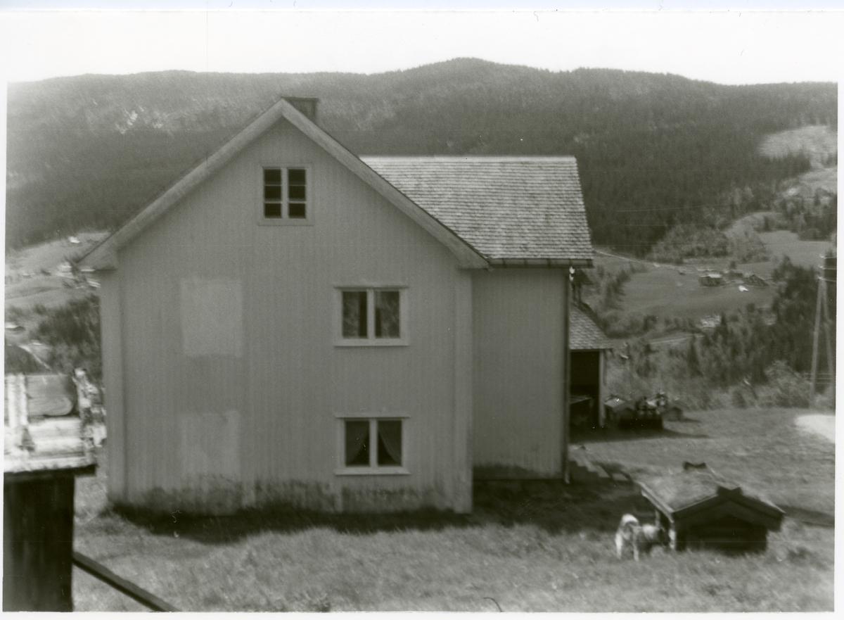 Våningshuset på gården Bakkene i Reinli, Sør-Aurdal