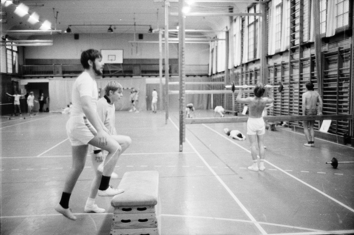 Gymnastik, Uppsala, 1969