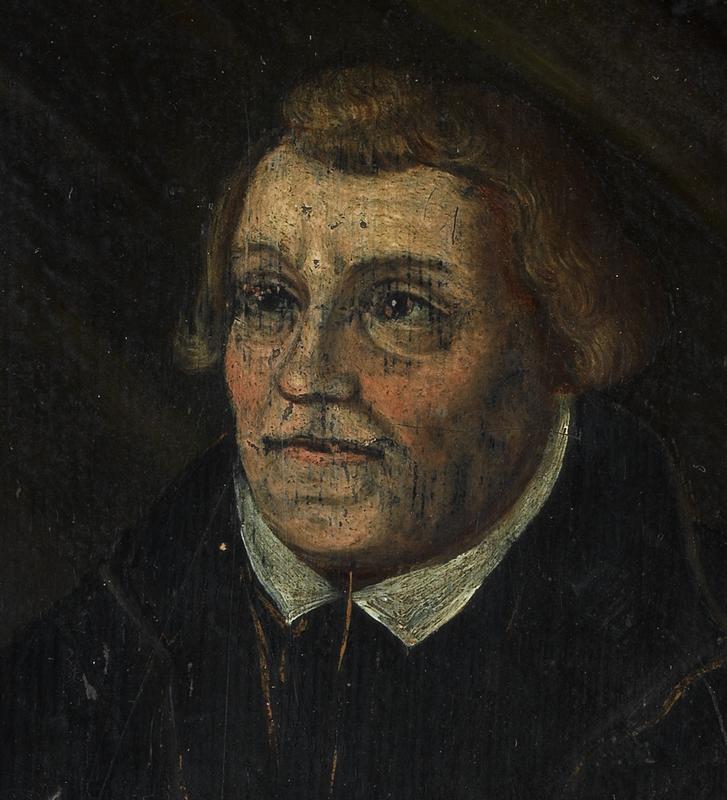Martin Luther detalj
