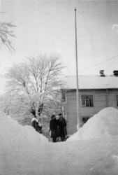 ".""Snø-vinteren 1939-1940""."