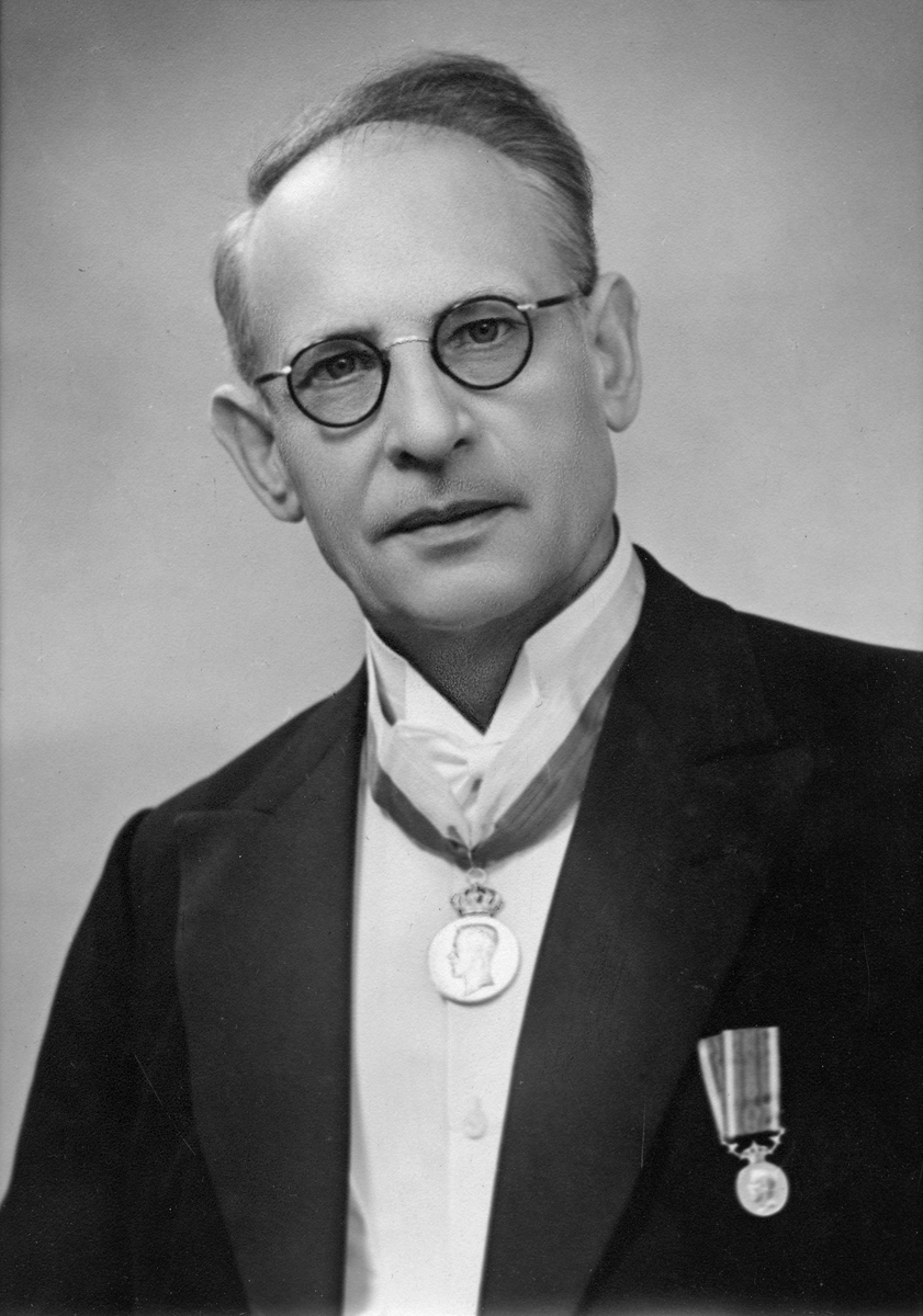 Porträtt av Karl Joel Österberg (1881-1961)