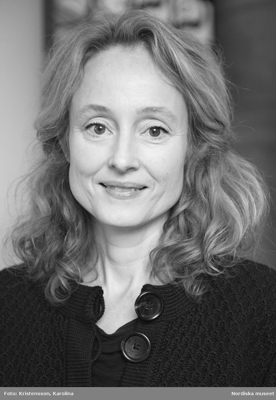 Porträtt Anna Womack, intendent Nordiska museet