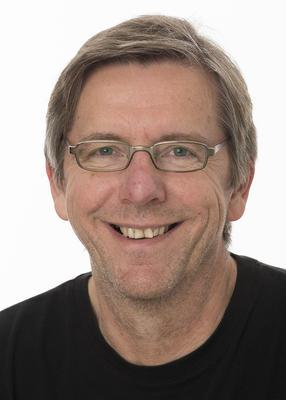Portrett av fagkonsulent Ole Petter Solheim i Anno museum.