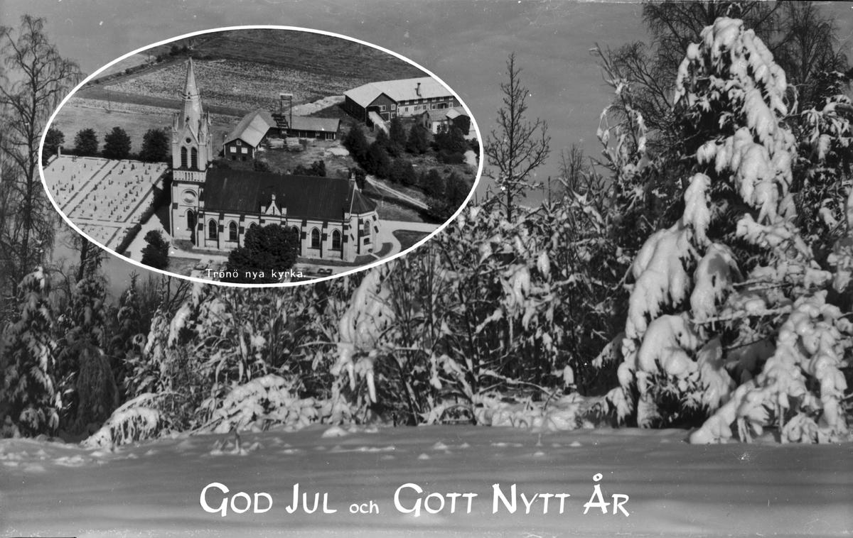"""""""God Jul och Gott Nytt År"""", Trönö, Hälsingland"""