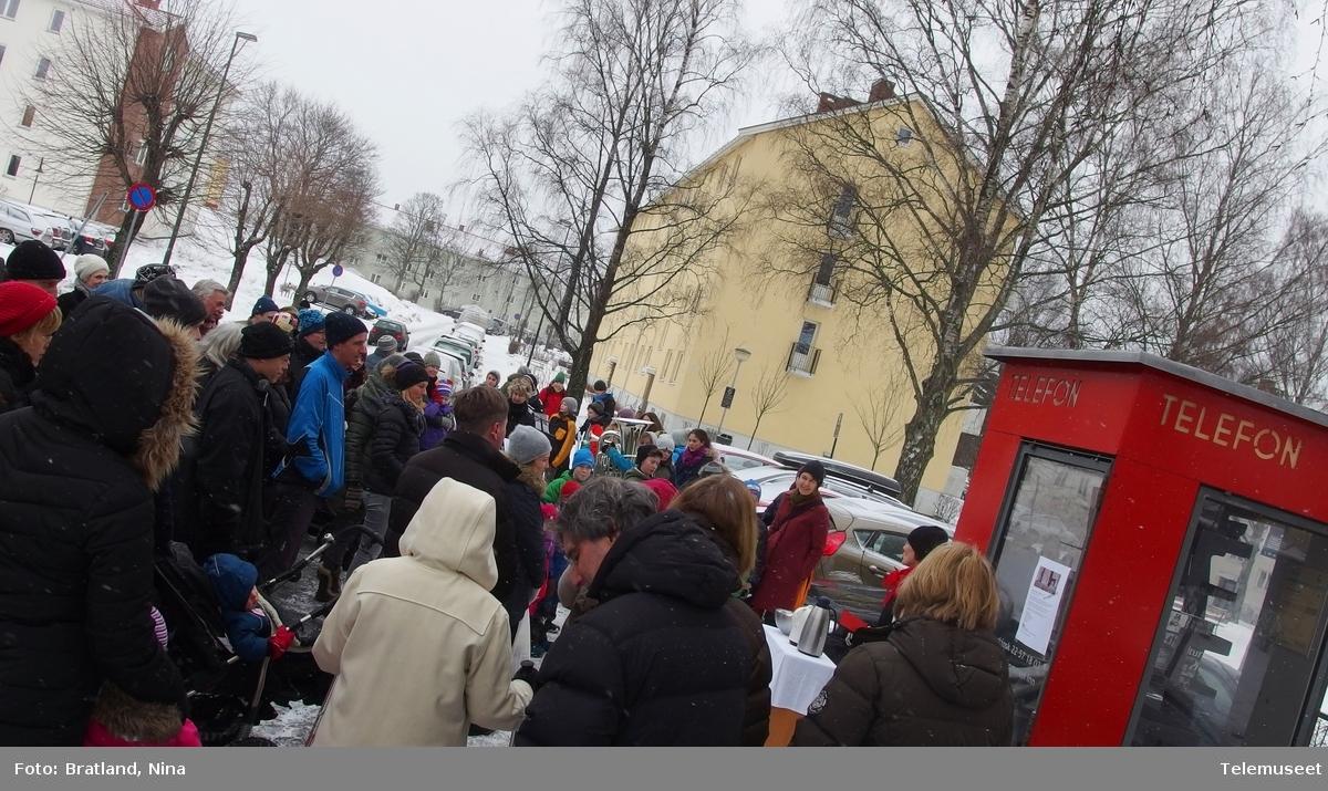 Åpning av Keyserkiosk med Hasle skole musikkorps