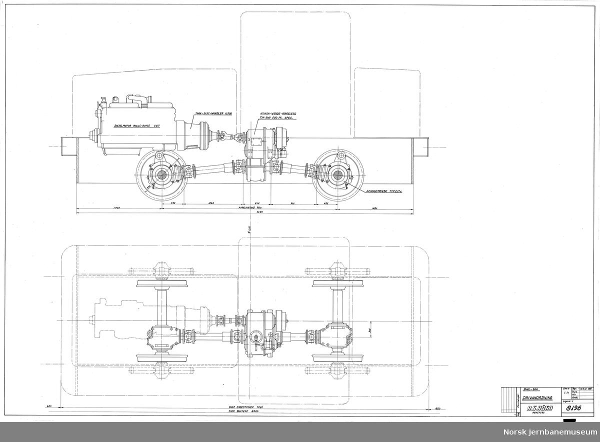 HØKA DHL-300 Drivanordning Prosjekt, ikke realisert