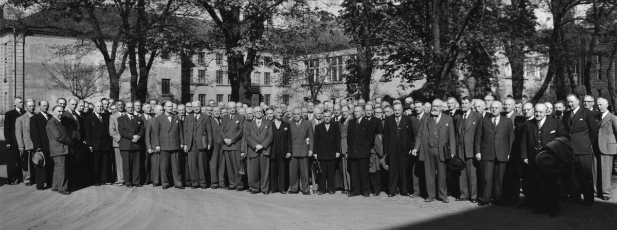 Postmestersamling 1951.