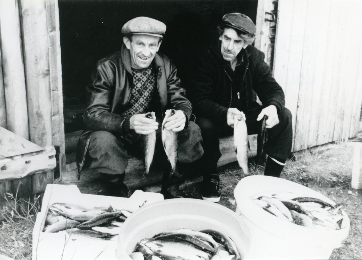 Magnar Dokken og Harald Veglingsrud på sikfiske.