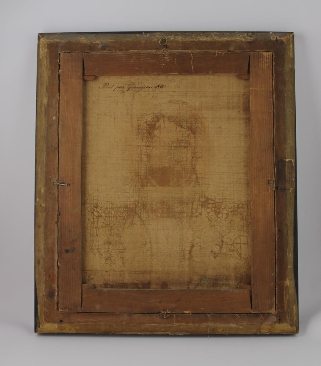 Halvportrett av en mann med gallauniform.